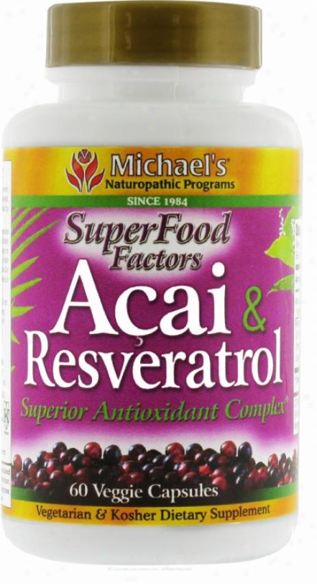 Michael's Acai & Resveratrol 60 Vcqps