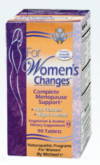 Michael's For Women's Cuanges 90 Tablets