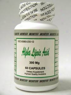 Montiff'w Alpha Lipoic Acid 300mg 60caps