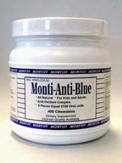 Montiff's Monti-anti-blue 400 Chews