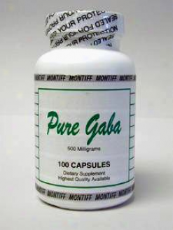 Montiff's Pure Gaba 500mg 100caps