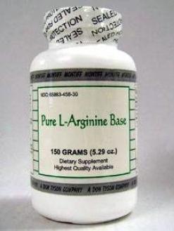 Montiff's Pure L-arginine Base Powder 150 Gms