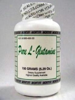 Montiff's Pure L-glutamine Powder 150 Gms