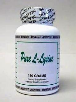 Montiff's Pure L-lysine Hcl Powder 150 Gms