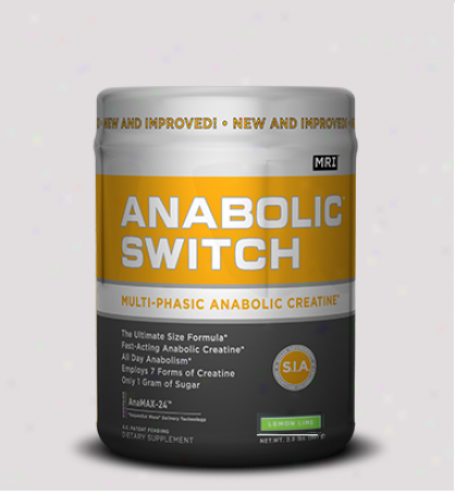 Mri Anabolic Switch Lemon-lime 2.2lb