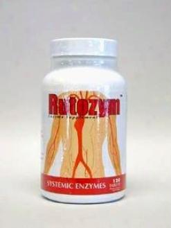 Mucos Pharma's Rutozym 120 Tabs