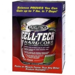 Muscletech's Cell-tech Hardcore Lemon-lime 4.5 Lb