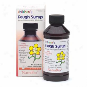 Natra-bio Children's Cough Syrup 4 Fl Oz