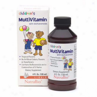 Natra-bio Children's Multi-vitamin 4 Fl Oz