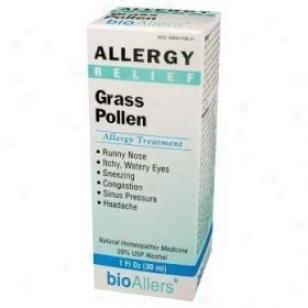 Natra-bio Grass Pollen Allerby Succor 1 Fl Oz