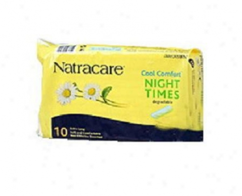 Natracare's Cool Comfort Darkness Time 10pads