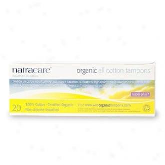Natracare's Super Plus Organic 20cnt