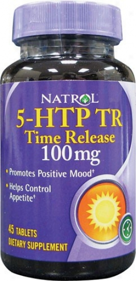 Natrol's 5-htp T.r. Time Release 100mg 45tabs