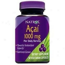 Natrol's Acai Extract 1000mg 60vcaps