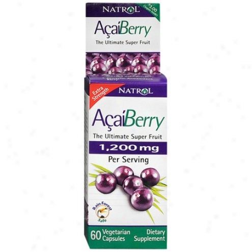 Natrol's Acaiberry The Ultimate Super Fruit 60vcaps