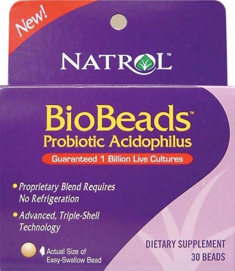 Natrol's Biobeads Acidophilus Complex 30beads