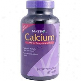 Natrol's Calciyn With Magnesium 120tabs
