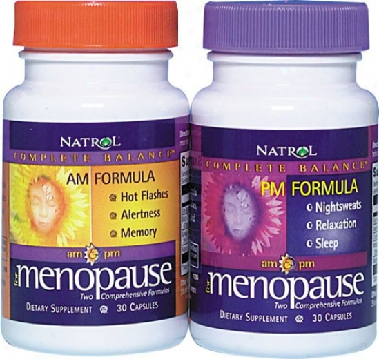 Natrol's Complete Balance For Menopause Am(30) - Pm(30) - 60caps