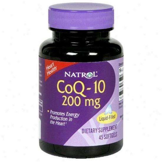 Natrol's Coq-10 200mg 45sg