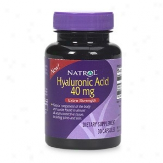 Nartol's Hyaluronic Acid 40mg 30caps