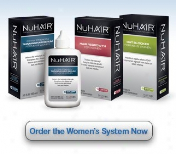 Natrol's Nu Hair Hair Regrowth System For Women 30day 1kit