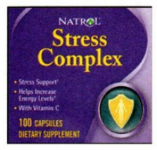 Natrol's Stress Comllex 250 Caps