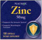 Natrol's Zinc 50mg 180 Caps