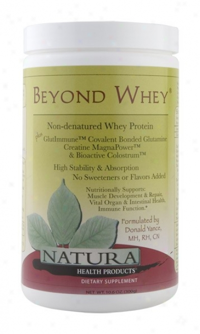Natura Health's Beyond Whey (net Wt. 10.6 Oz.) 300gm