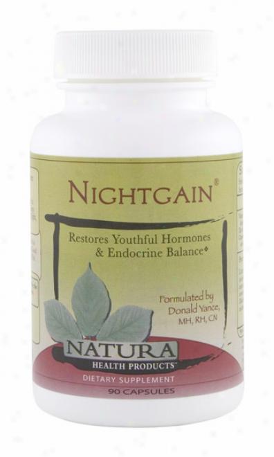Natura Health's Night Gain 90caps