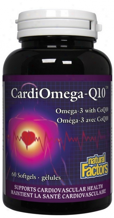 Natural Factors Cardiomega-q10  60sgel