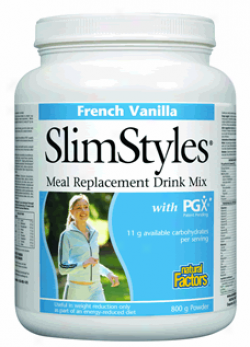Natural Factors Slimstylesã¿â¿â¾ French Vanilla Weight Loss Powder 1lb 30% Off