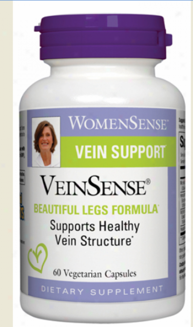 Natural Factors Veinsense 60vcaps 30% Off