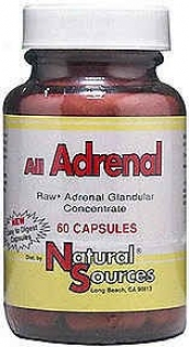 Natural Sources All Adrenal 60caps
