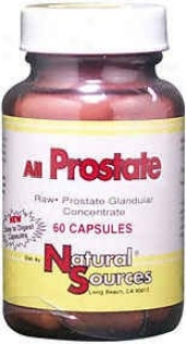 Natural Sources All Prostate 60caps
