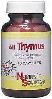 Natural Sources All Thymus 60caps