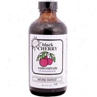 Natural Sources Concentrate Black Cherry 8oz