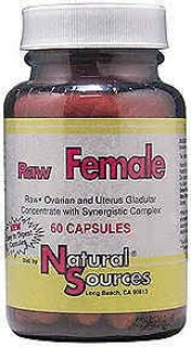 Natural Sources Raw Female 60caps