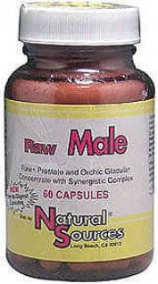 Natural Sources Raw Male 60caos