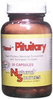 Natural Sources Raw Pituitary 50caps