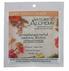 Nature's Alchemy's Aromatherapy Bath Sandalwood 1oz