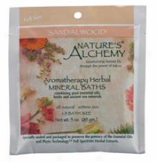 Nature's Alchemy's Aromatherapy Bath Sandalwood 3oz