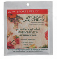 Nature's Alchemy's Aromatherapy Bath Sports Relief 1oz