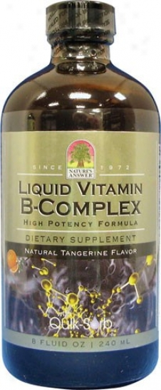 Nature's Answer's Liquid Votamin B-complex 8 Fl Oz