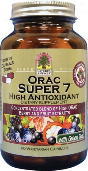 Nature's Answer's Orac Super-7 60vcaps