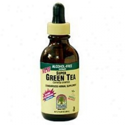 Nature's Answer's Super Green Tea 2 Fl Oz