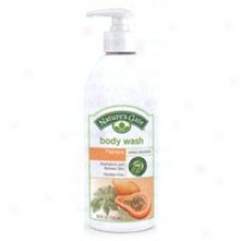 Naturs's Gate's Body Wash Moisturizing Papaya 18oz