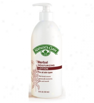 Nature's Gate's Lotion Moist Herb 18oz