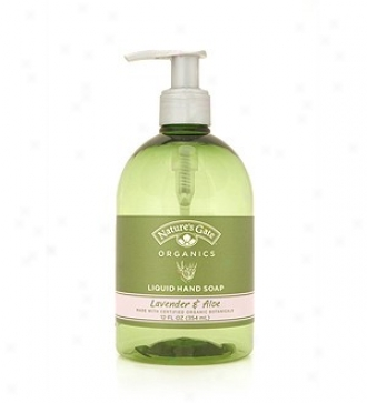 Nature's Gate's Org Liquid Soap Lavender/aloe 12oz