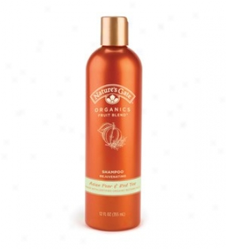 Nature's Gate's Org Shampoo Asian Pear/red Tea 12oz