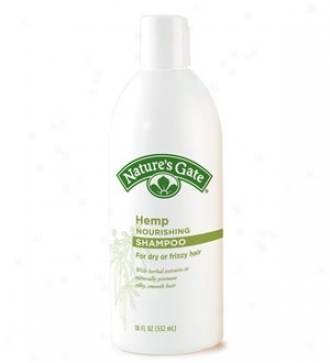 Nature's Gate's Shampoo Rainwater Hemp 18oz